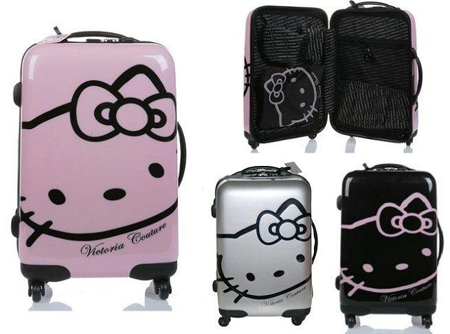 d6823235b Maletas Hello Kitty | objetos | cosas de Hello Kitty, Bolso de hello ...