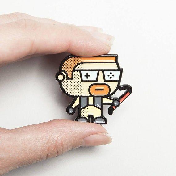 Photo of Half Life Pin – Gordon Freeman- HalfLife –  Halflife enamel pin – Cute Gamer Gift