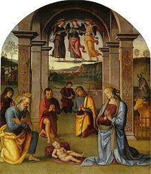 Sala delle Udienze del Collegio del Cambio -  Perugia - sede dell'Arte del Cambio - ciclo di affreschi - Pietro Perugino - 1496-1500
