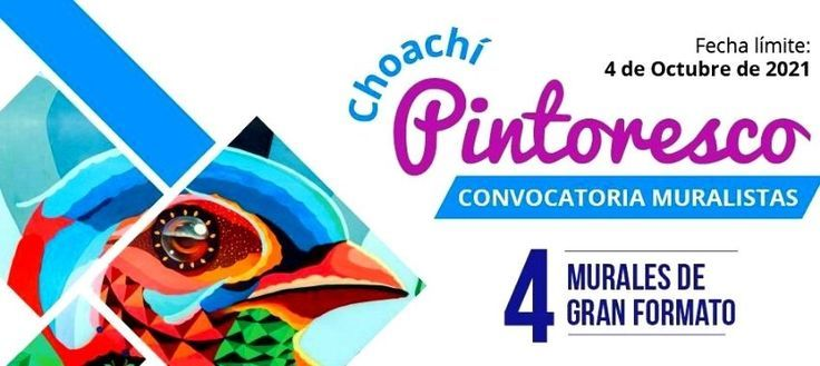 Convocatoria abierta Murales Choachí Pintoresco