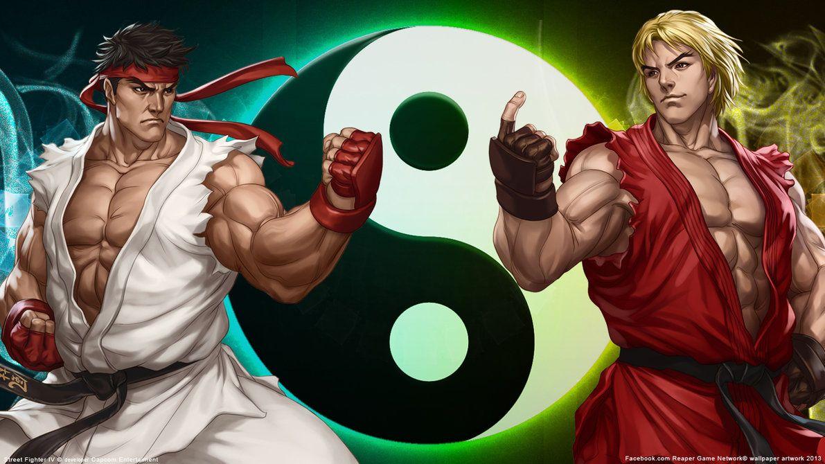 Street Fighter Ken Wallpaper Hd Resolution Street Fighter Wallpaper