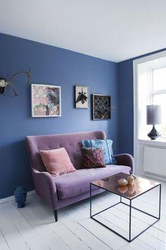 45 idées magnifiques pour l\'intérieur avec la couleur parme ...