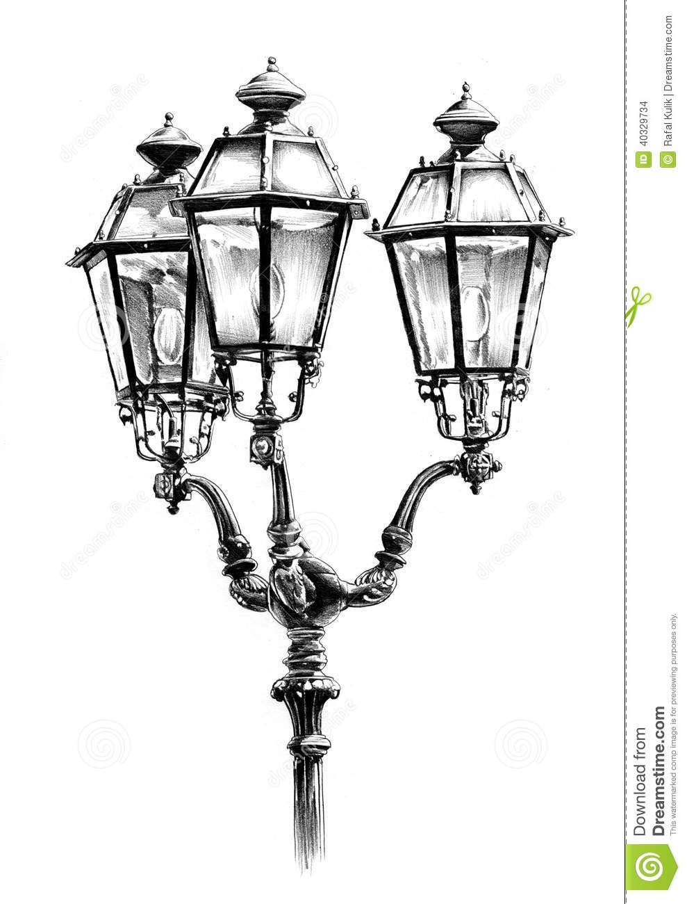Pin By Kendall Rump On Art Street Lamp Pencil Drawings Lantern Drawing