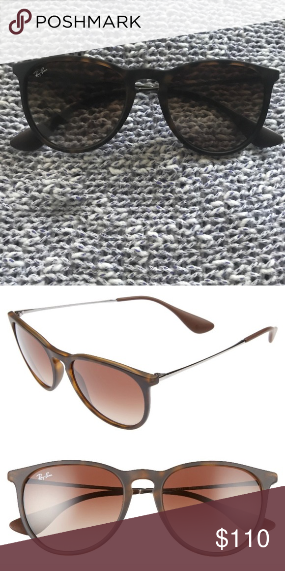 a5ba2bbb9f RAY-BAN Sunglasses Ray-Ban matte tortoise brown. Tiny scratch on left lense  but hard to even tell. Ray-Ban Accessories Sunglasses