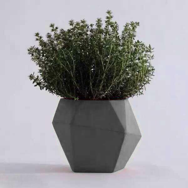 Nieuwste Ontwerp Geometrische Cement En Beton Bloempot Voor Huis En Tuin Decoratie Inbloempotten En Plantenbakken Van Tuin Tuin Decoratie Bloempot Bloembakken