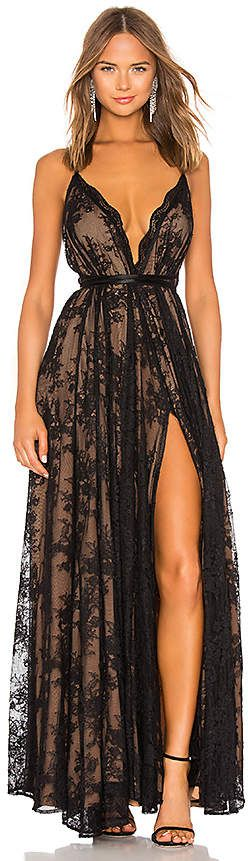 13143f64191 Michael Costello Paris  Gown in  Black. - size XXS (also in XS