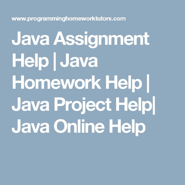 java help online