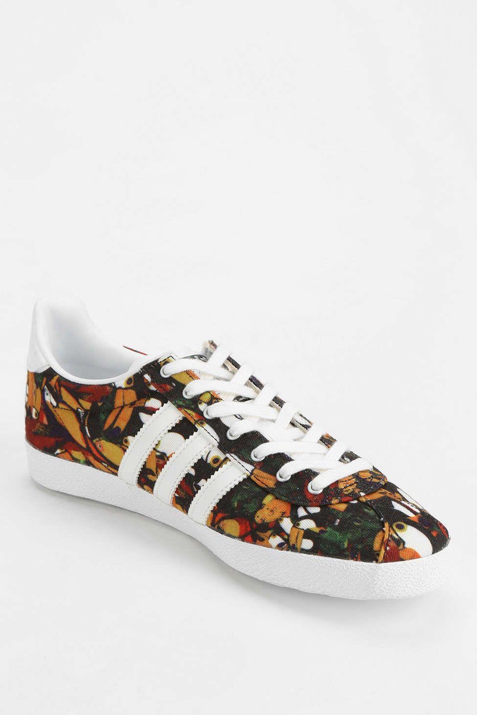 the latest b3472 cd16e adidas Originals X The Farm Company Gazelle Floral Farm Sneaker