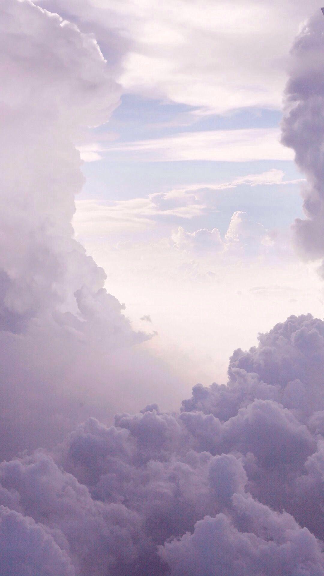 Sunset Sky Sea Of Clouds 1080x1920 Wallpaper Cloud Wallpaper Sky Aesthetic Iphone Wallpaper Sky