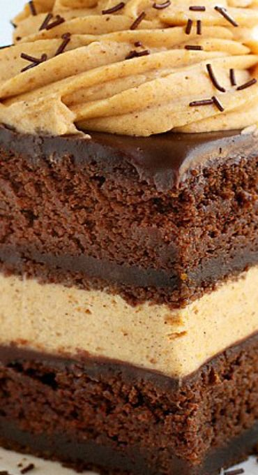 Chocolate Pumpkin Cake | i am baker