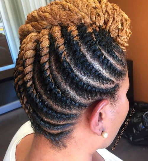 20 hottest flat twist hairstyles for this year flat twist updo 20 hottest flat twist hairstyles for this year mohawk updoafrican pmusecretfo Image collections