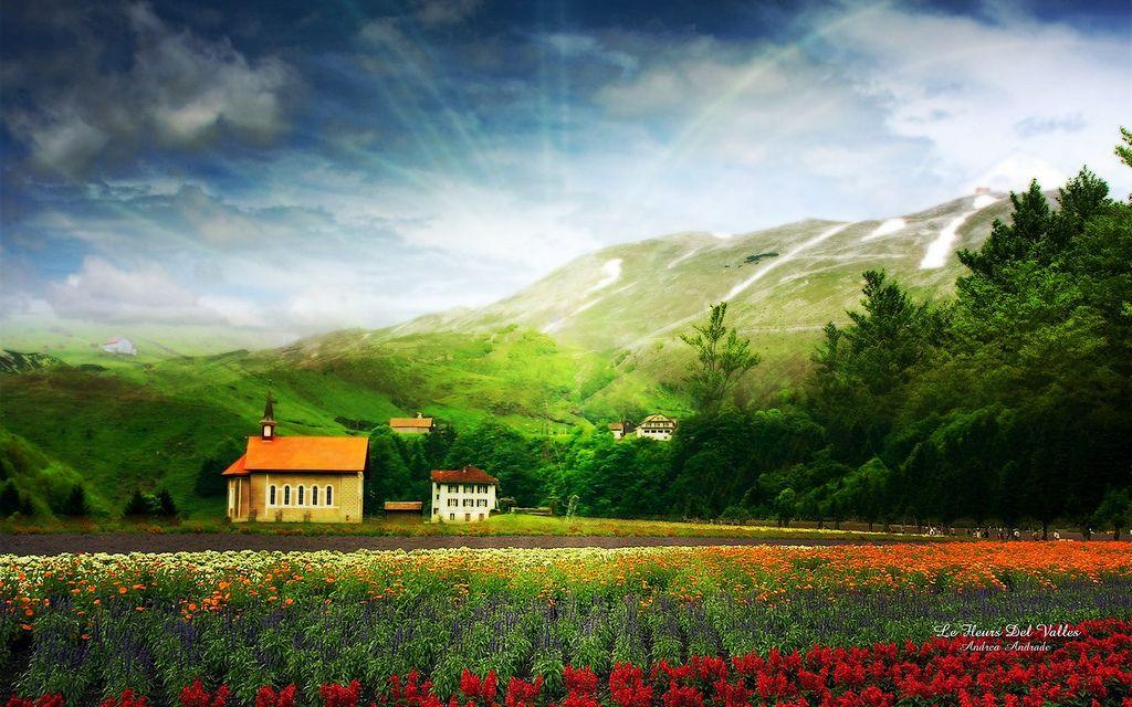 LandScape Wallpaper Beautiful landscape pictures