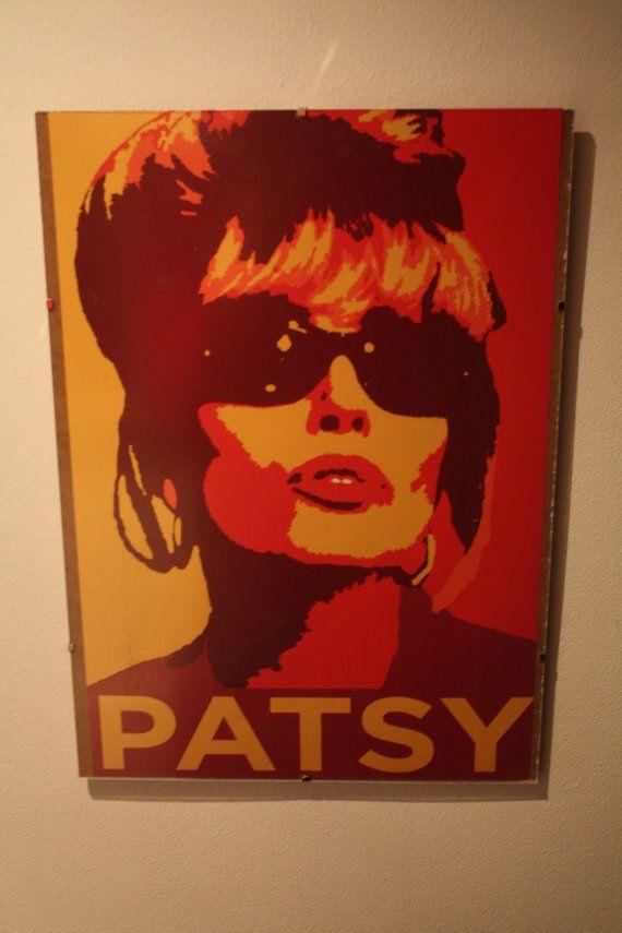 Patsy Stone Ab Fab A3 Framed Print