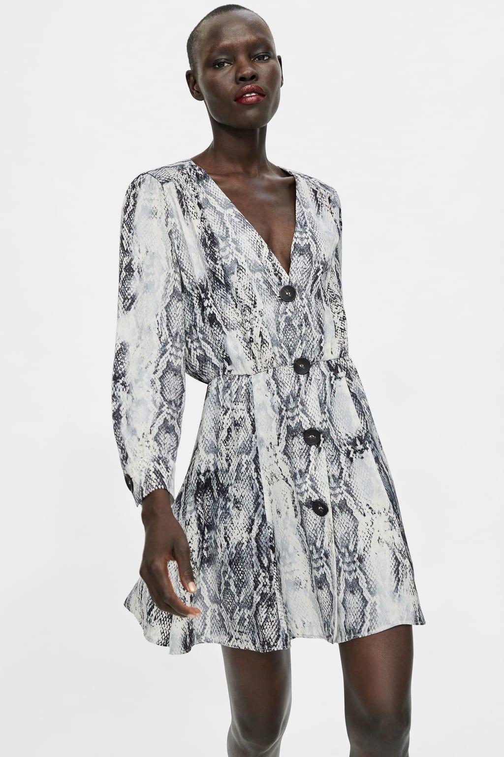 a4dfd3a0c45a Image 2 of ANIMAL PRINT DRESS from Zara | DRESSES | Animal print ...