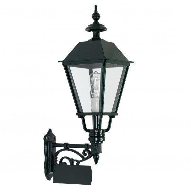 Klassieke Vierkante Muurlamp Heemstede Incl Naambord