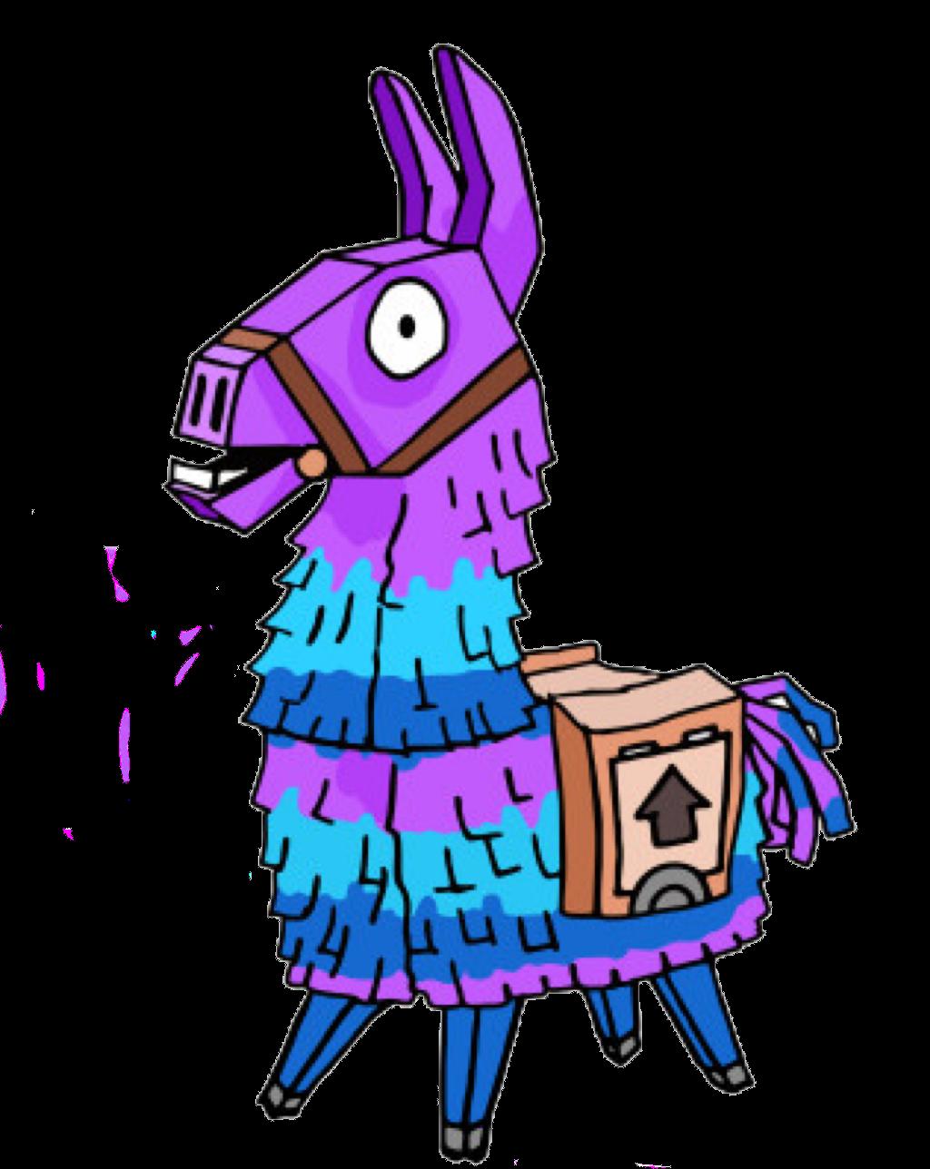 Loot Llama From Fortnite Llama Loot Lootllama Fornit Llama Pictures Llama Drawing Art
