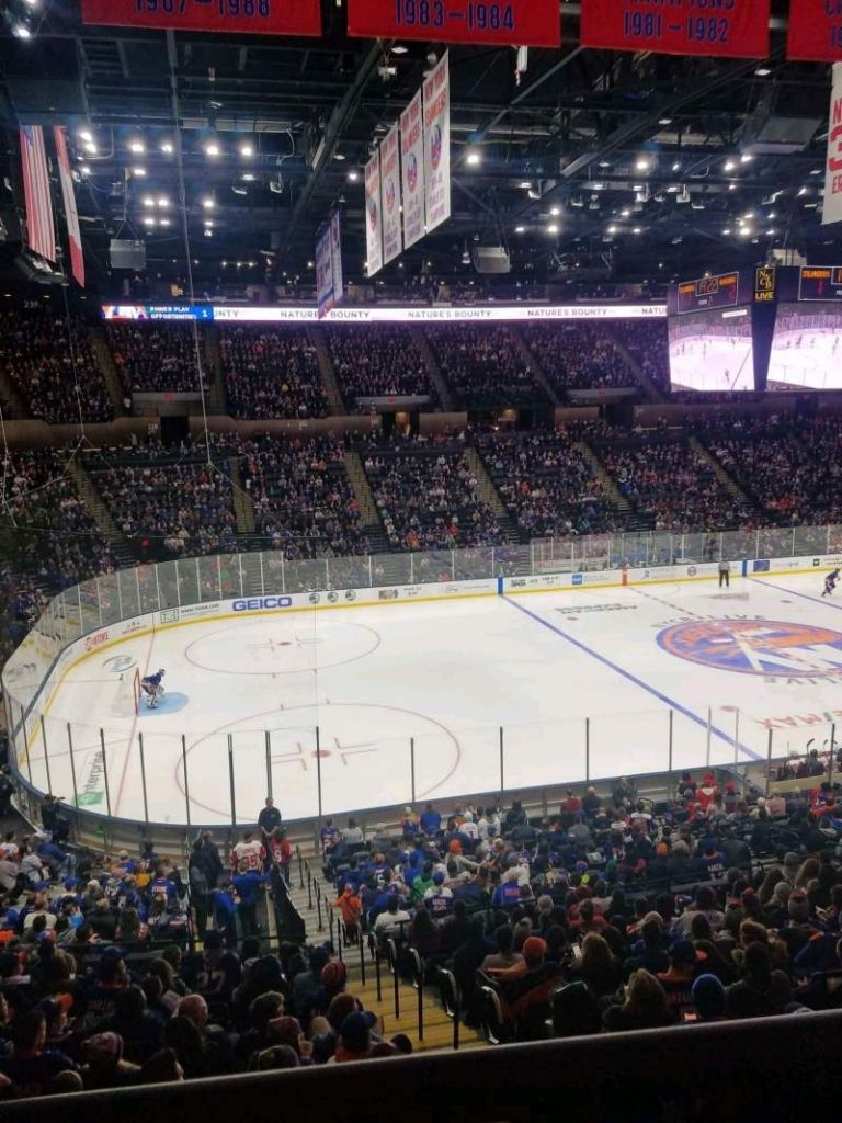 New Nassau Coliseum Seating Chart With Rows