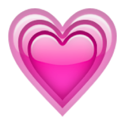 The Growing Heart Emoji On Iemoji Com Emoji De Coracao Emoji Emojis Diferentes