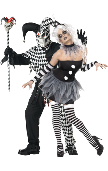 Halloween costumes · Sinister Pierrot u0026 Evil Jester Combination  sc 1 th 283 : tricksterina halloween costume  - Germanpascual.Com