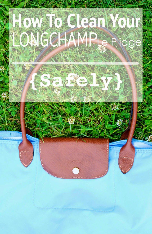3e4a8497dc How To Clean Your Longchamp | prepfection | Longchamp, Handbag ...