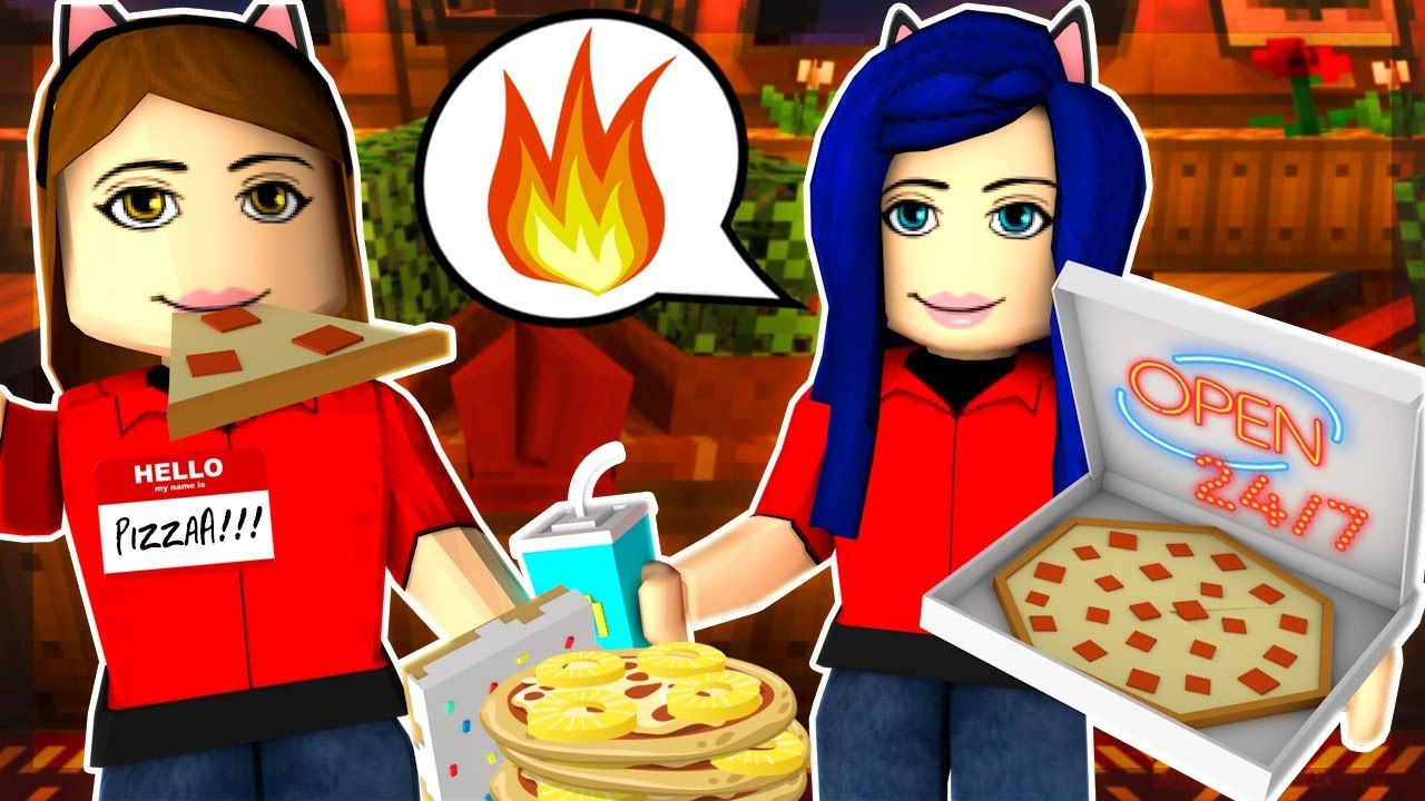 Making Our Own Pizza Tycoon Shop In Roblox Shopping Youtube
