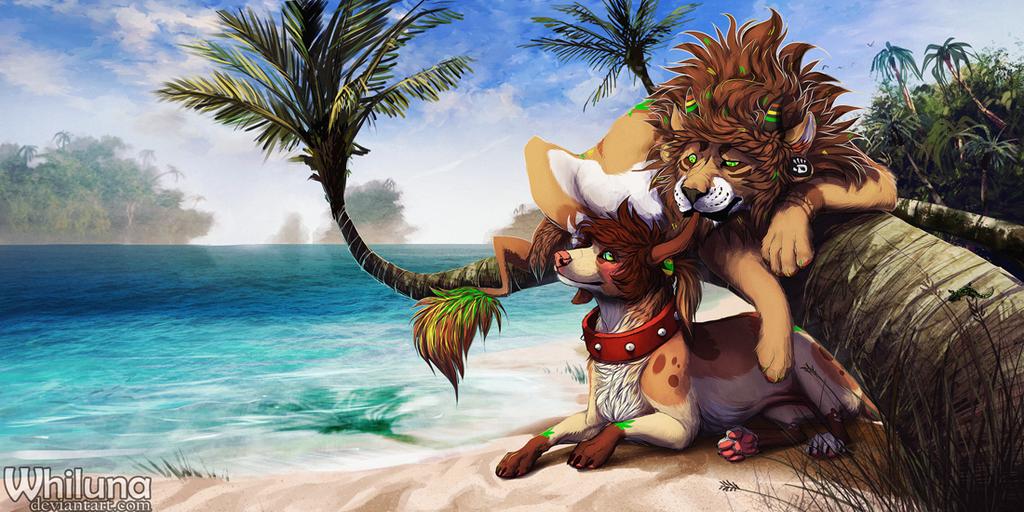 Tropical Island By Whilunadeviantart On DeviantArt
