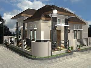 House And Enjoying Place Wonderful High In The Corner House Plans Free Download Photo Of House Pl House Fence Design Exterior House Colors Brown House Exterior