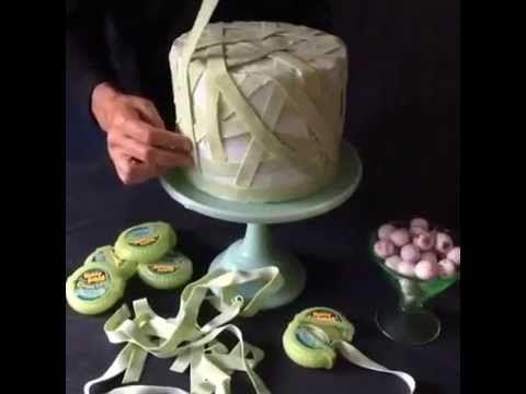 Halloween Cake Decorating Bubble Tape Mummy Cake Halloween Cakes - decorating halloween cakes