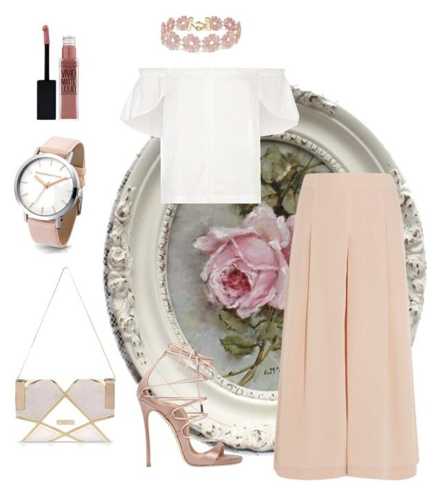 """""""Untitled #192"""" by aysha-najm-shukor on Polyvore featuring TIBI, Lucille, Dsquared2, River Island, BaubleBar and Maybelline"""