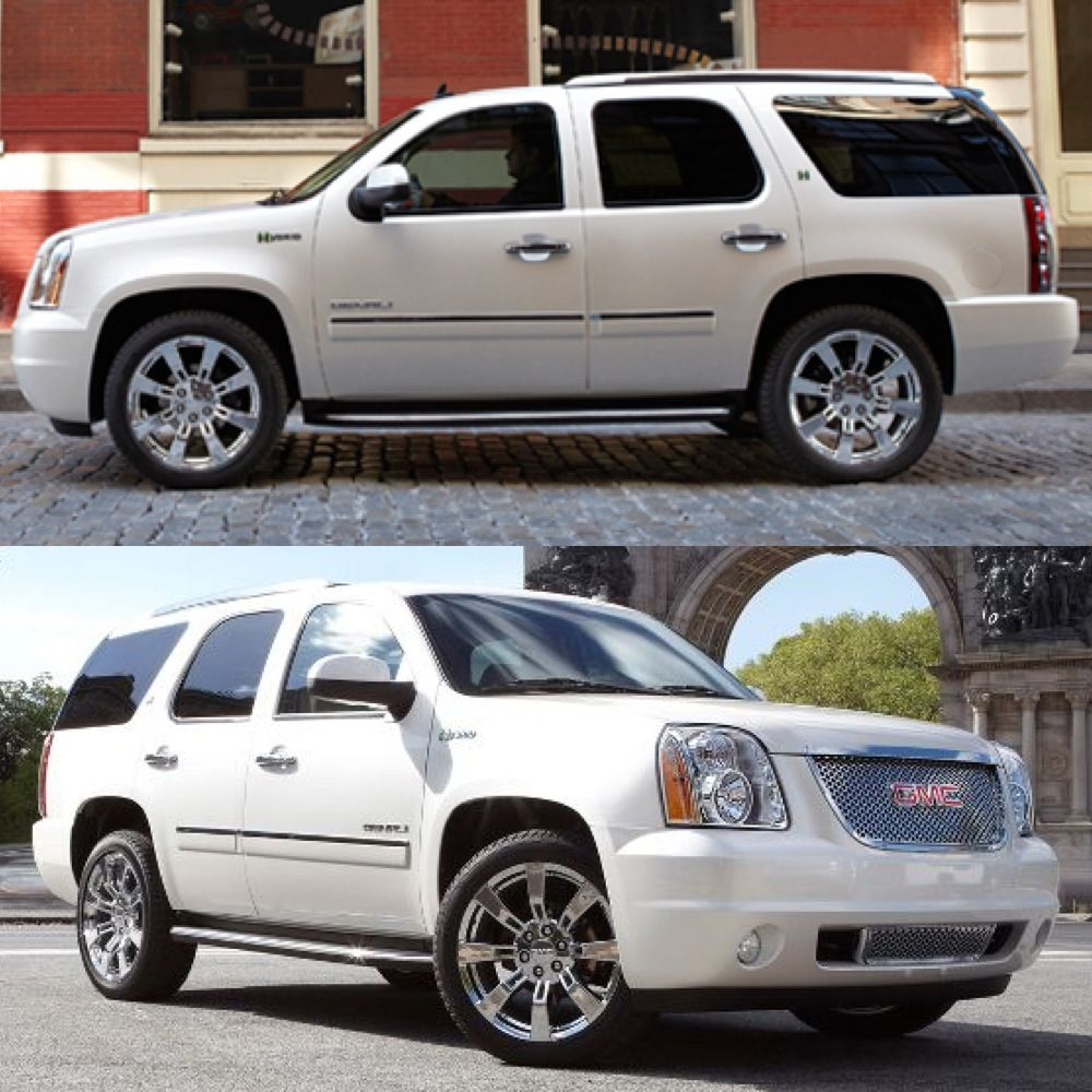 Next Suv Next Year Gmc Yukon Denali Hybrid Diamond White Ebony