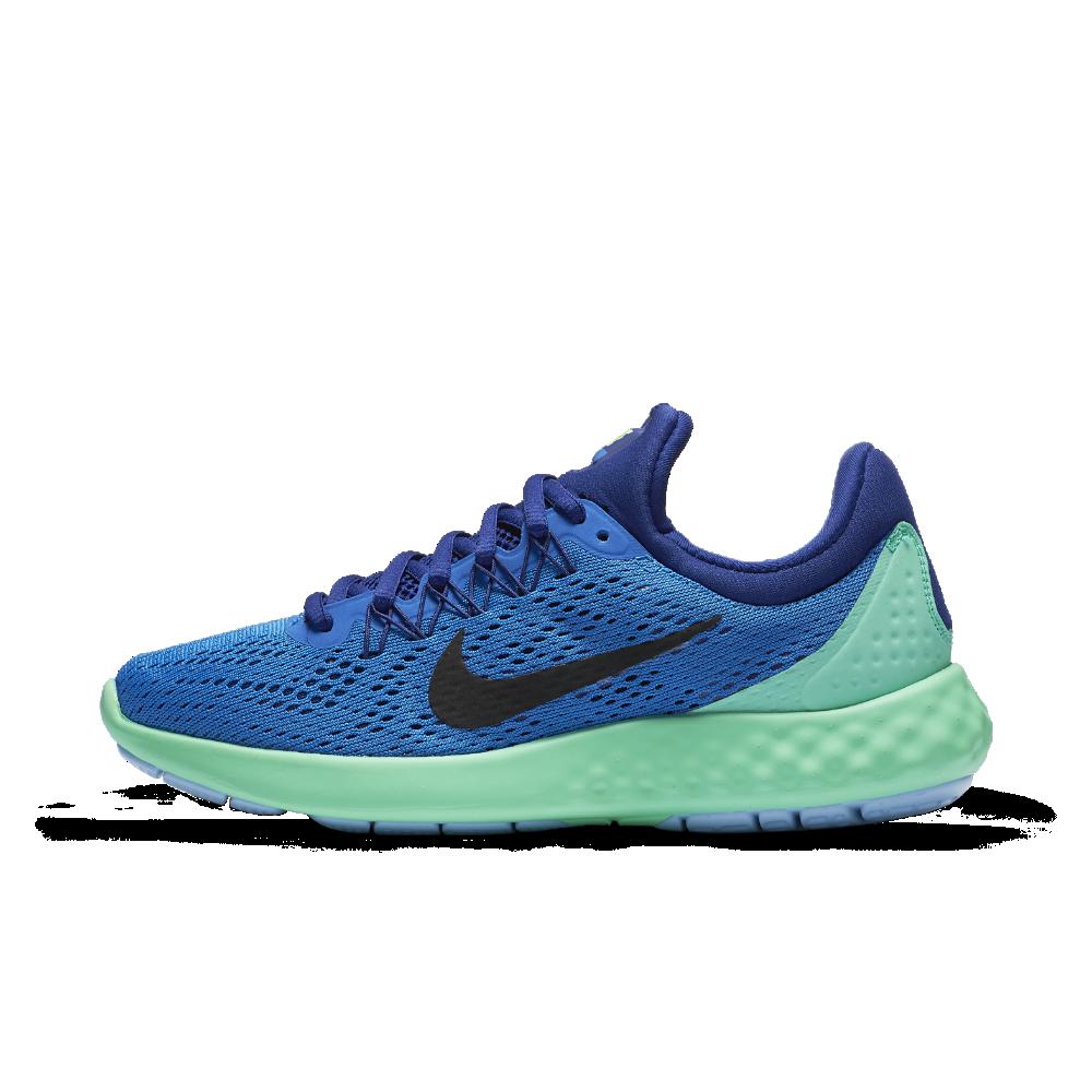 84109d869f3 Nike Lunar Skyelux Women s Running Shoe Size 10.5 (Blue) - Clearance Sale