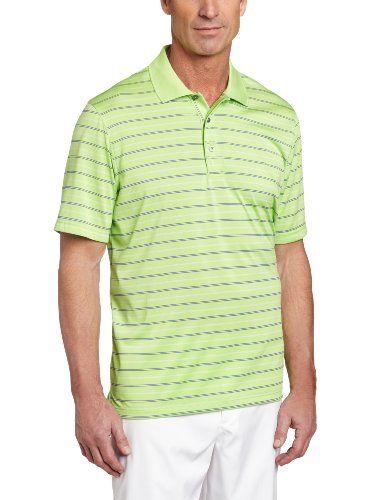 07f7642c IZOD Men`s Short Sleeve Jersey Stripe Golf Polo $30.98 | For Him ...
