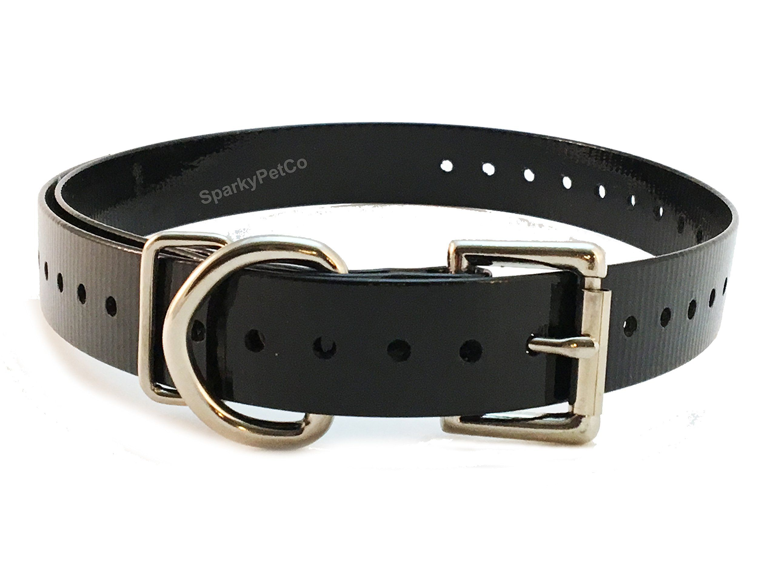Sportdog 3 4 High Flex Waterproof Roller Buckle Dog Strap Black