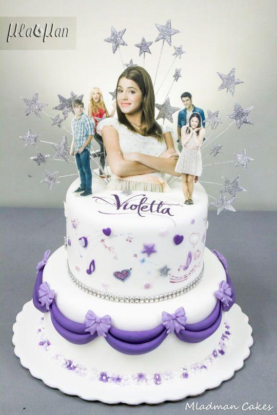 Violetta Cake Violetta Torte Fototorte Und Kuchen
