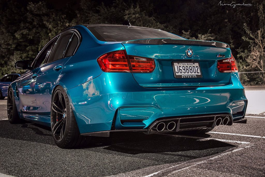 Dubsesd D Atlantis Blue Metallic M3 November Photoshoot Bmw M3