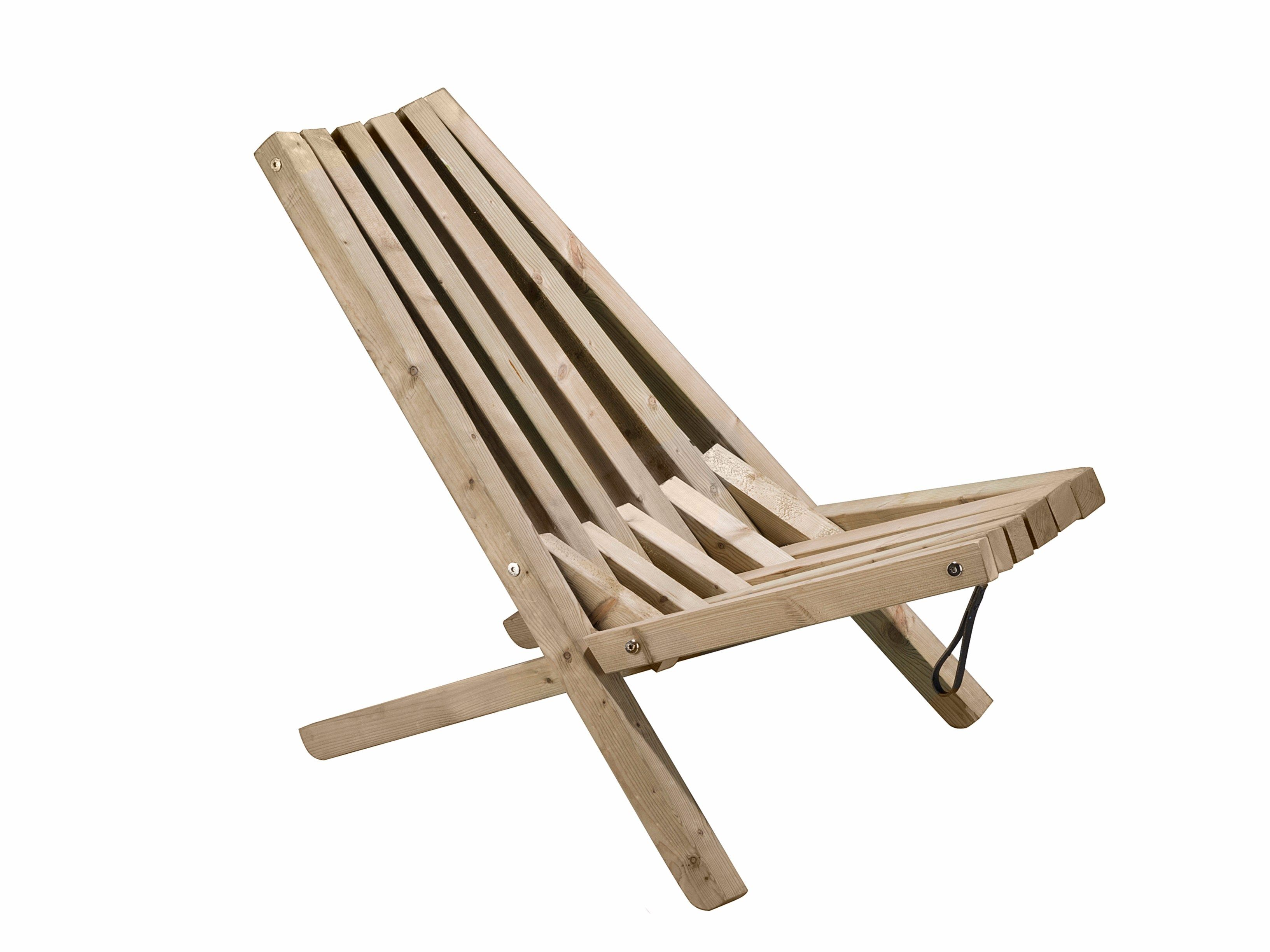 Folding wooden garden chair FIELDCHAIR Weltevree