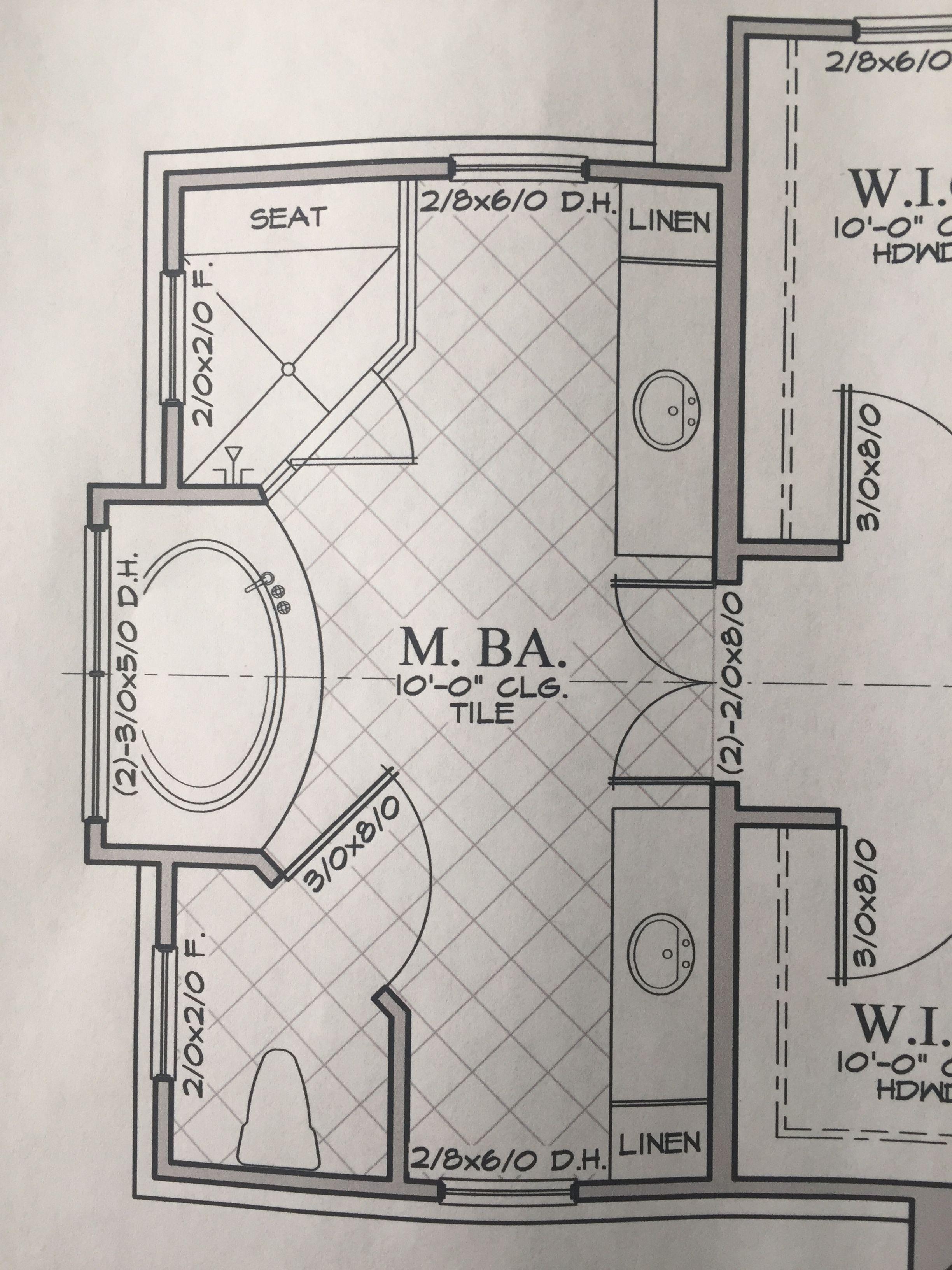 17 Ideal Bathroom Floor Plan With 2 Doors You Re Sure To Love Master Bedroom Layout Bathroom Floor Plans Master Bedroom Plans