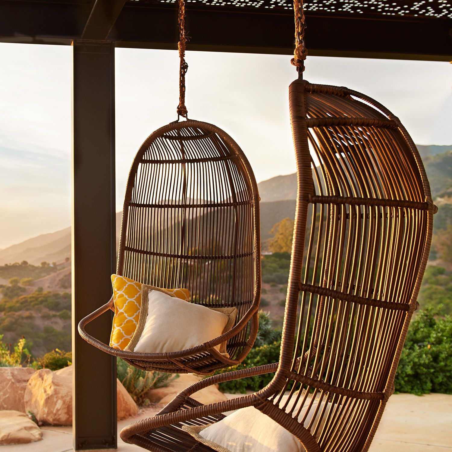 Willow Swingasan Chair Latte Swingasan Chair Patio Swing