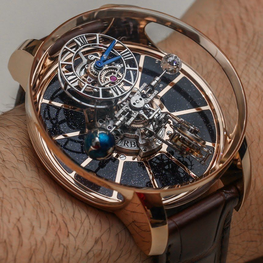 Hands on review of the polarizing and outrageous jacob co astronomia tourbillon watches with for Jacob co watches