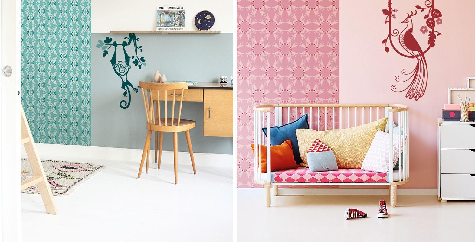 Stickers Enfant Papiers Peints et Dcoration Chambre
