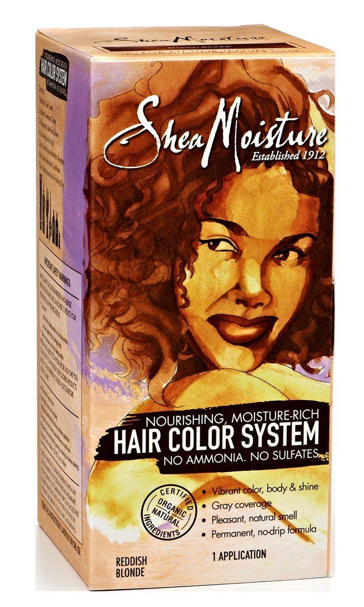 Shea Moisture Reddish Blonde Hair Color System Click On The