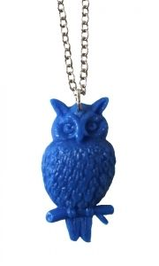 You Owl Me mini chain blue