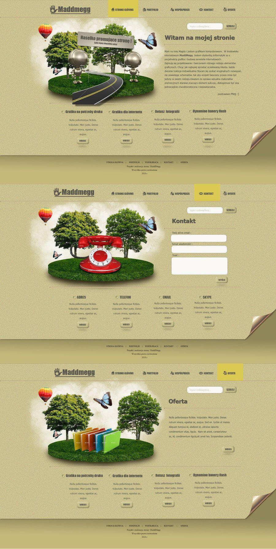 websites desing