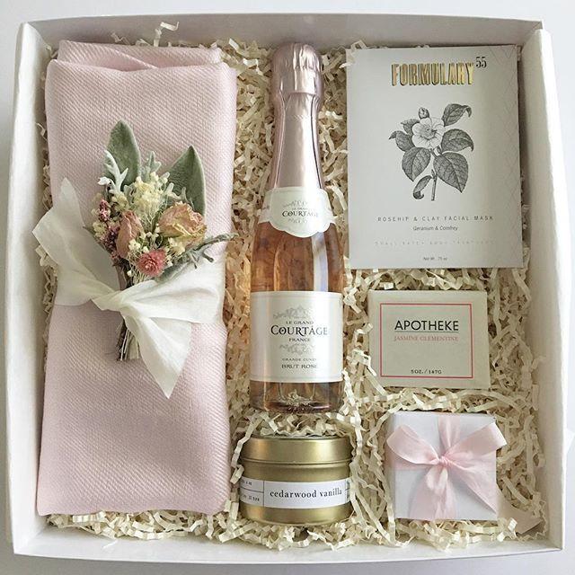 Wedding Gift Ideas Pinterest: Bridesmaids Gifts. Bridesmaid Gift Box Ideas