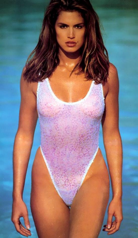 23c13bb90f Cindy Crawford 90s Swimsuit