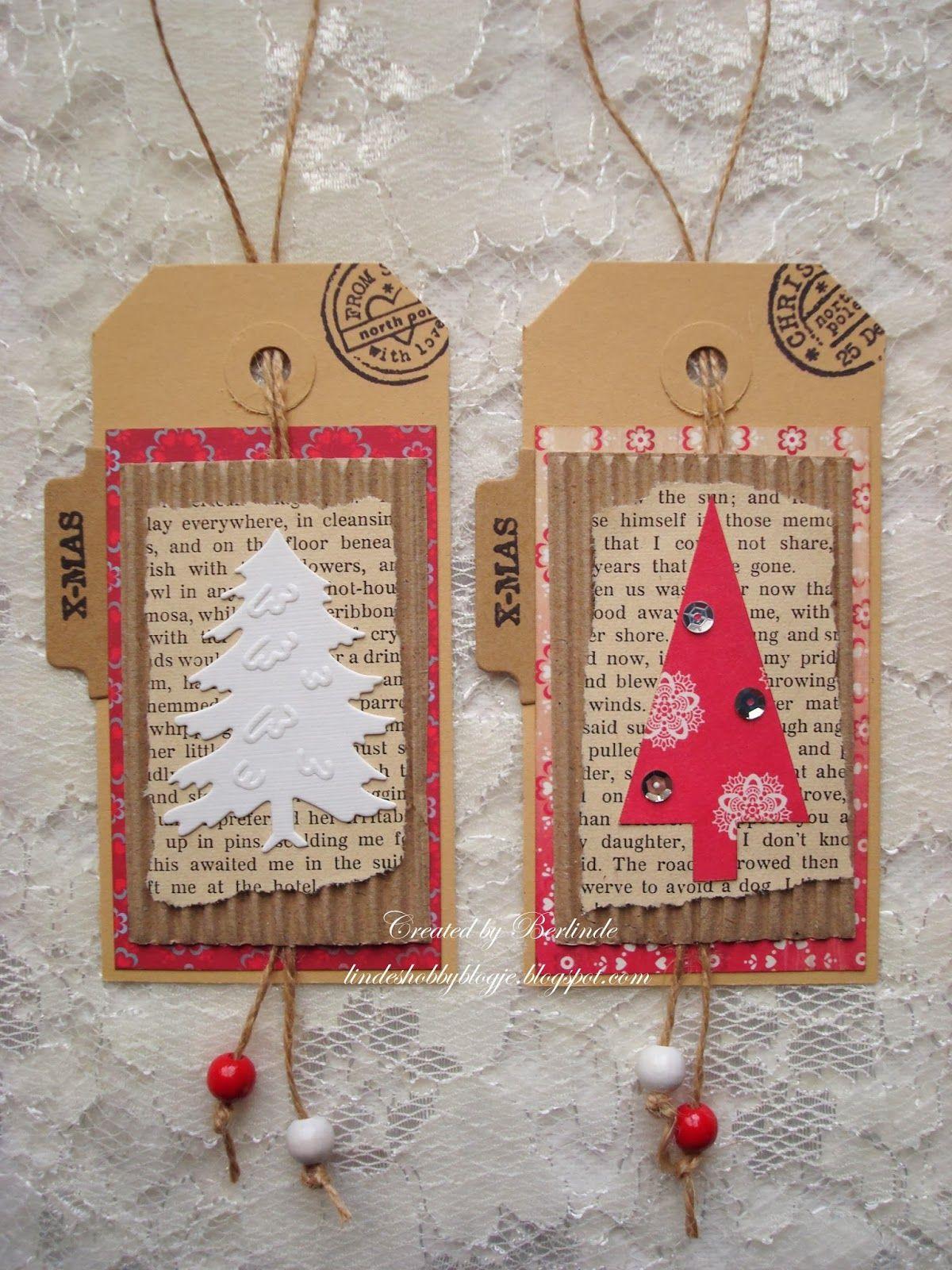 linde s hobbyblogje Kerstlabels en mini kaartjes