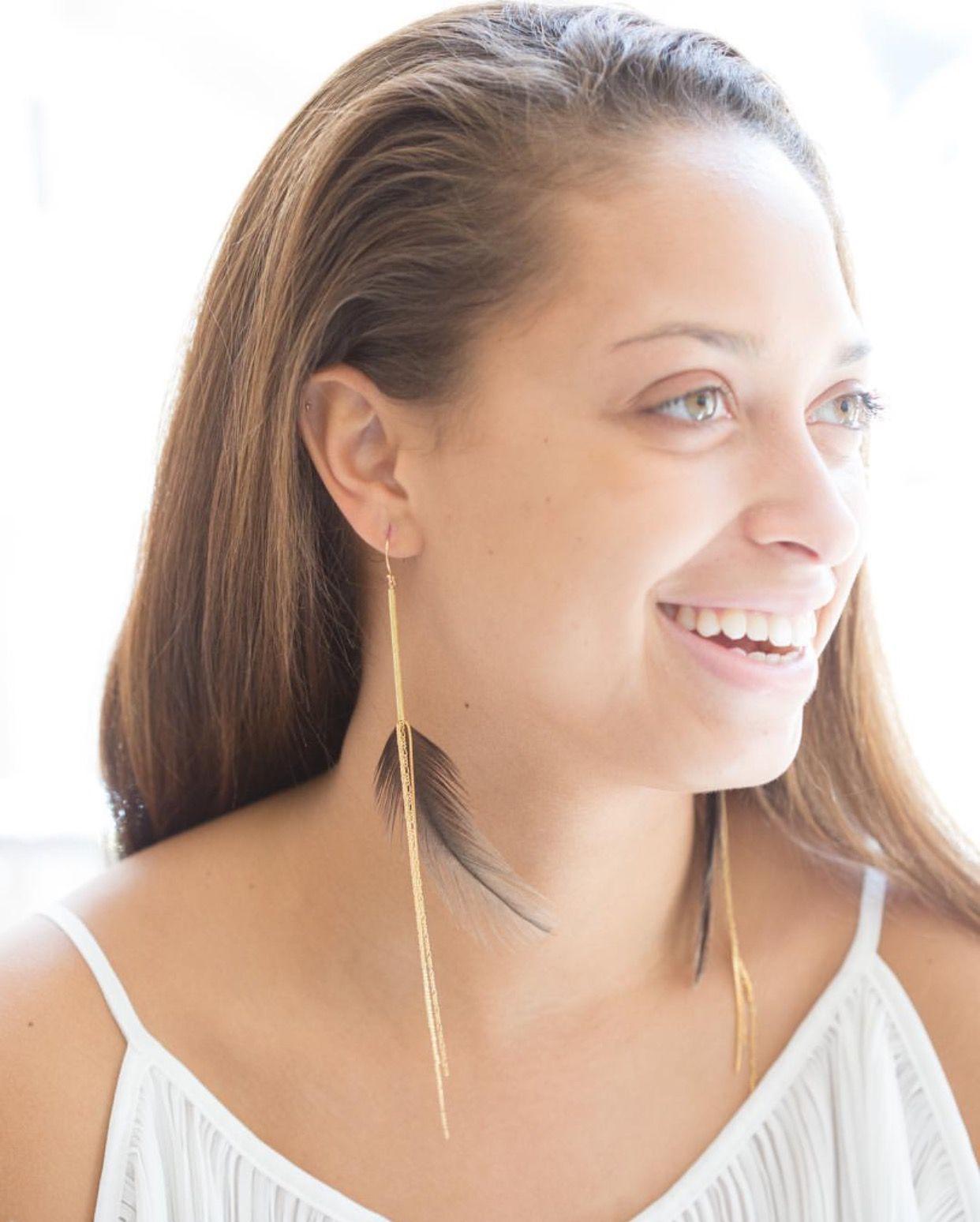 2nd ear piercing ideas  Pin by Aaraa Accessories on Earrings  Pinterest