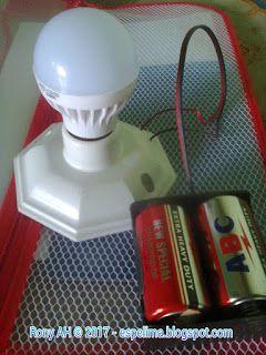 Joule Thief Mini Inverter 3v To 220v Ac Light Rangkaian Elektronik Elektronik Lampu