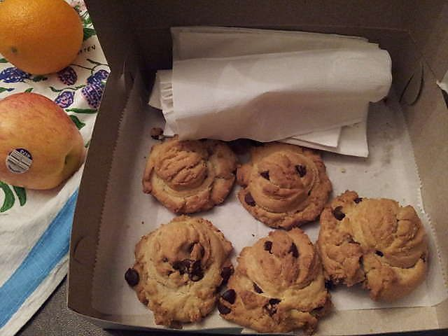 Chocolate Chip Cookies from Grandmas Cookies in Historic St