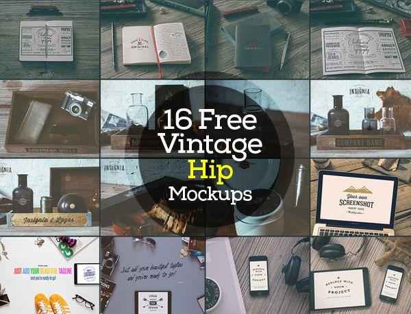 Free Psd Mockup Designs 25 Mockups Freebies Graphic Design Junction Mockup Design Vintage Graphic Design Free Design Elements